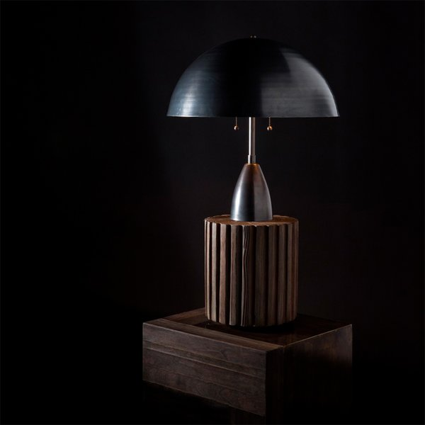 Column Table Lamp by Apparatus