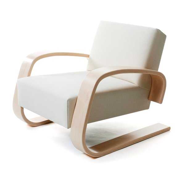 armchair 400 tank chair by Alvar Aalto