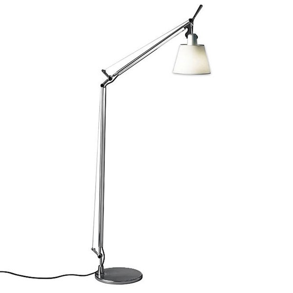 Tolomeo with Shade Reading Floor Lamp By Giancarlo Fassina, Michele De Lucchi for Artemide