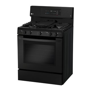 Watch Out For These Two Kitchen and Bath Trends in 2018 - Photo 4 of 32 - Matte-black stainless steel gas single-oven range by LG</p><p>$1,249 LG's large-capacity oven boasts a fingerprint- and smudge- resistant finish, as well as intuitive glass controls that are as easy to operate as they are to wipe clean.