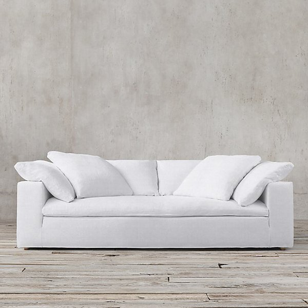 CLOUD TRACK ARM FABRIC SOFA from Restoration Hardware