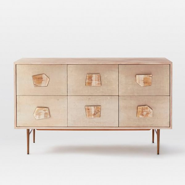 Roar + Rabbit™ Jeweled 6-Drawer Dresser from West Elm