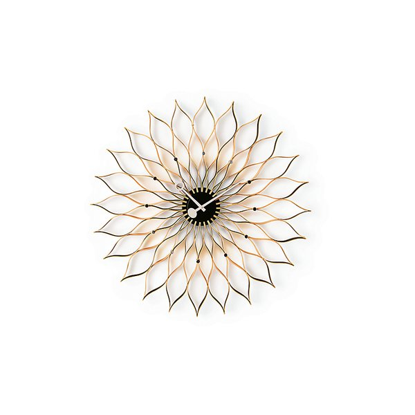 Nelson Sunflower Clock by Irving Harper for George Nelson Associates, produced by Vitra