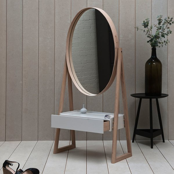 Iona drawer cheval mirror by PINCH