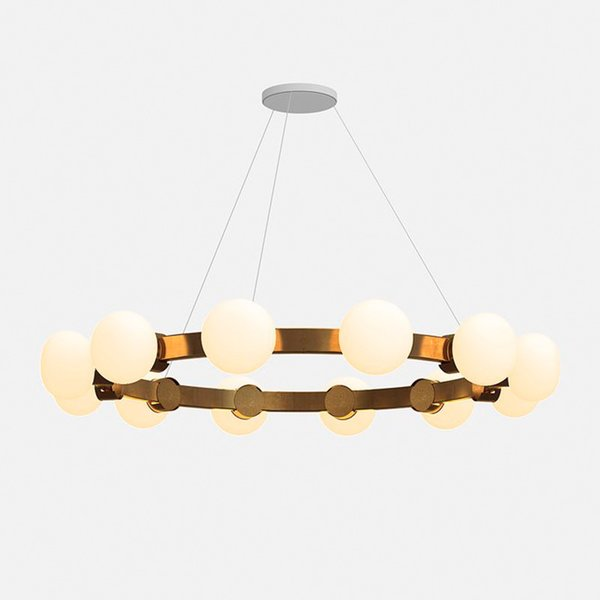 Cinema 4 12 Plated Chandelier from Rich Brilliant Willing