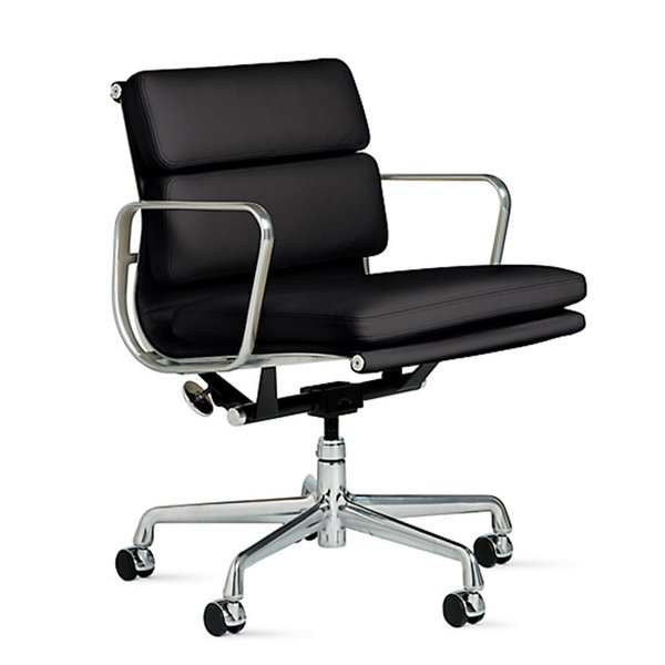 Eames Soft Pad Management Chair Designed by Charles and Ray Eames for Herman Miller