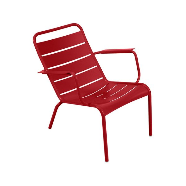 Luxembourg Stacking Low Armchair, Set of 2