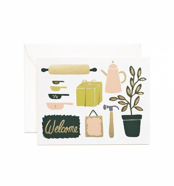 Housewarming Greeting Card by Rifle Paper Co.