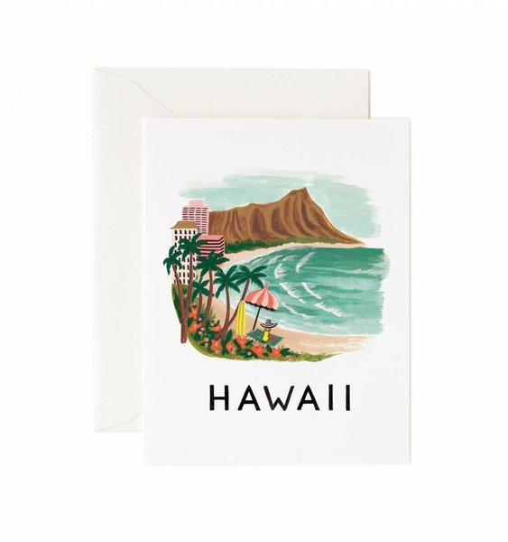 Hawaii Greeting Card by Rifle Paper Co.