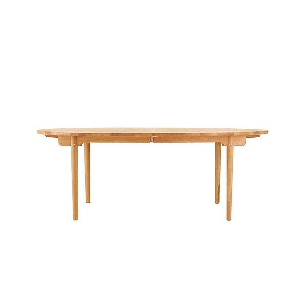 CH338 Oiled Oak Extension Dining Table Designed by Hans J. Wegner, for Carl Hansen & Søn