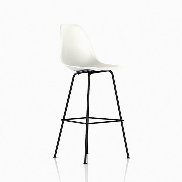 Eames Molded Plastic Stool – Bar Height