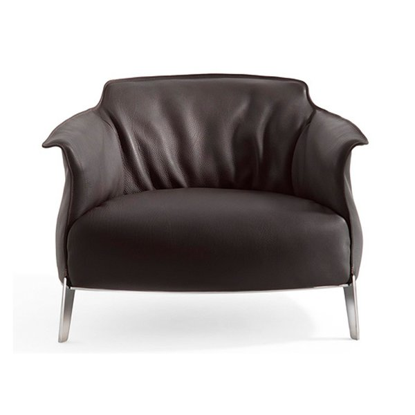 Archibald Gran Comfort Lounge Chair by Jean-Marie Massaud