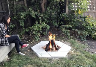 Dwell Made Presents: DIY Stone Fire Pit - Photo 8 of 9 -