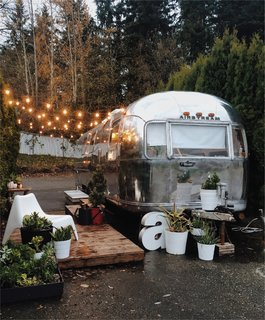 A Couple Transform a Vintage Airstream Into a Scandinavian-Inspired Tiny Home - Photo 1 of 17 -