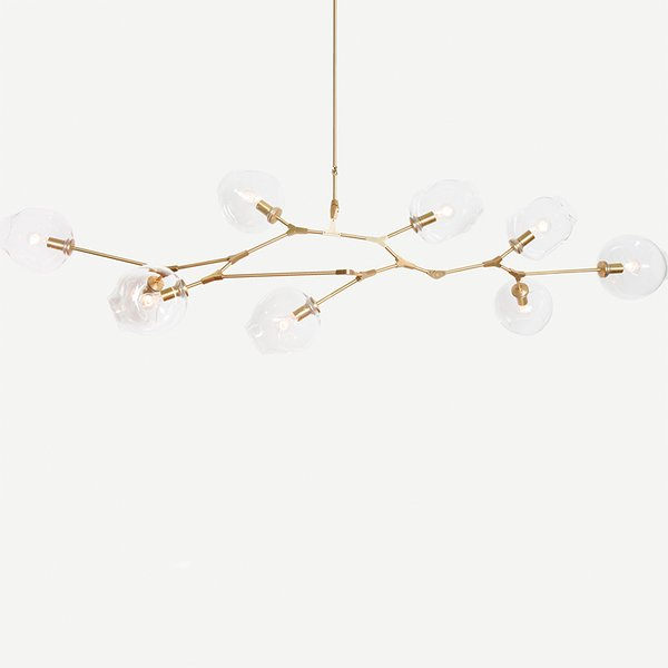 Branching Bubble chandelier by Lindsey Adelman
