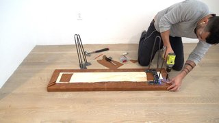 Dwell Made Presents: DIY Leather Bench - Photo 6 of 8 -