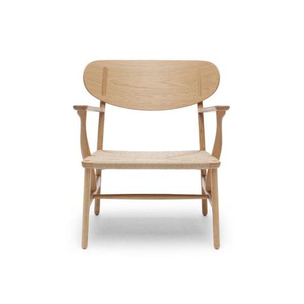 CH22 Lounge Chair by Hans Wegner, for Carl Hansen & Son