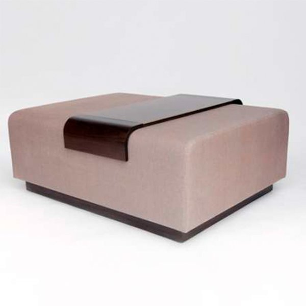 Obi Ottoman and Tray from Lumifer