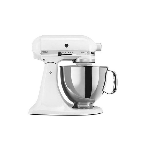 KitchenAid KSM150PSWH Artisan Series 5-Qt. Stand Mixer