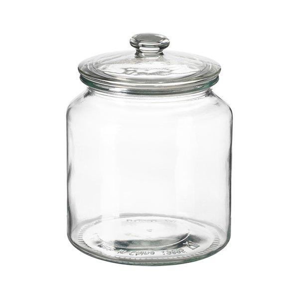 VARDAGEN glass Jar with lid by IKEA