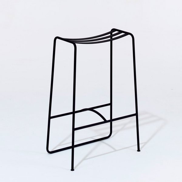 Slatted bar stool by Jasper Morrison