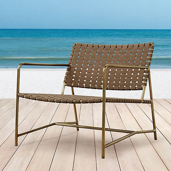 MONTECITO ARM LOUNGE CHAIR by Restoration Hardware