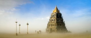 16 Otherworldly Photos of Burning Man Architecture - Photo 1 of 16 - Totem of Confessions by Michael Garlington and crew