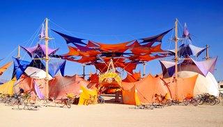16 Otherworldly Photos of Burning Man Architecture - Photo 3 of 16 - Sacred Spaces Village