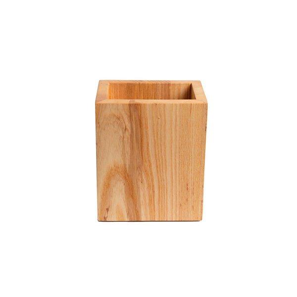 Solid Wood Utensil Holder