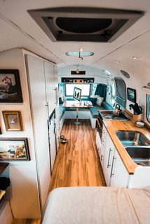 A Photographer Couple's Airstream Renovation Lets Them Take Their Business on the Road - Photo 13 of 14 -