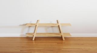Dwell Made Presents: DIY Modern Shoe Rack - Photo 10 of 12 -