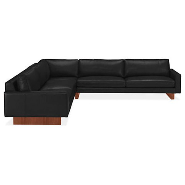 Hess Leather Sectionals from American Leather