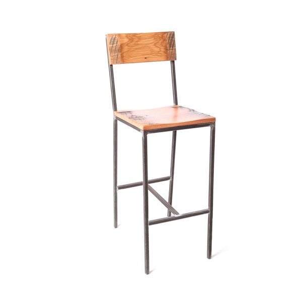 Prohibition bar stool by Rocky Mountain Table Company