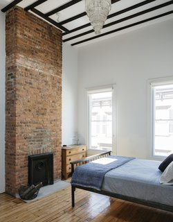 An Ad Copywriter Edits His Manhattan Row House—and Finds a New Calling - Photo 10 of 14 - Three fireplaces were rebuilt, including in the master bedroom. The flues were relined in stainless steel to make them operable.