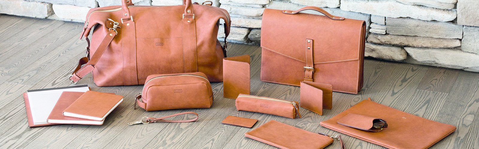 Refined Leather Essentials by SLATE COLLECTION™