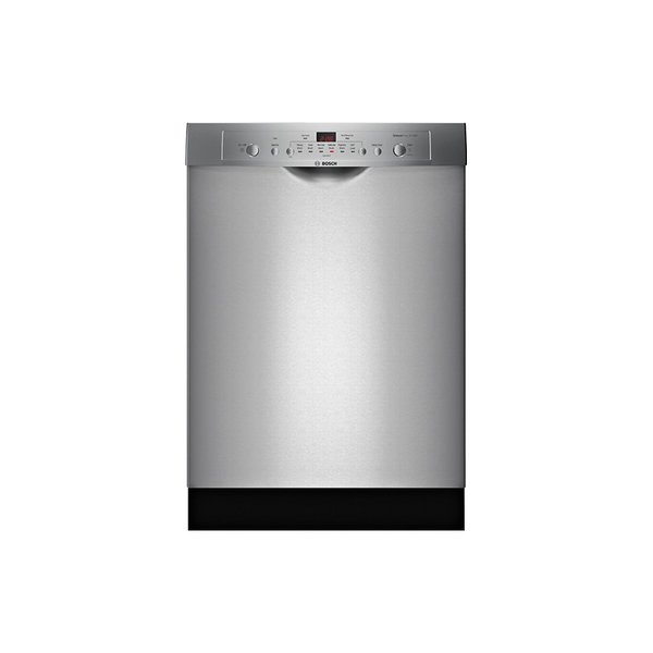Bosch - Front Control Tall Tub Built-In Dishwasher with Stainless-Steel Tub