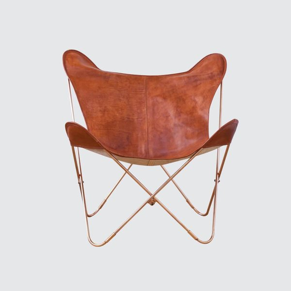 The Citizenry Palermo Chair – Copper & Cognac