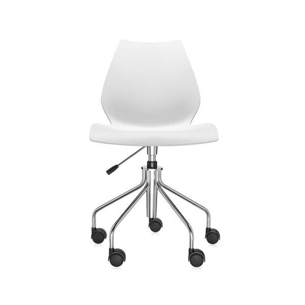 Kartell Maui Swivel Chair Height-Adjustable
