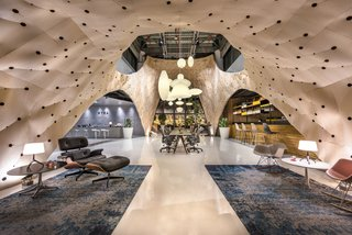 The First Ever Frame Awards Celebrate the World's Best Interiors - Photo 3 of 9 - Fabricwood Xtra Herman Miller