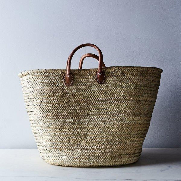 Medina Mercantile Extra-Large French Market Storage Basket