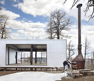 An Architect's Cabin Rises From the Ashes After a Devastating Forest Fire