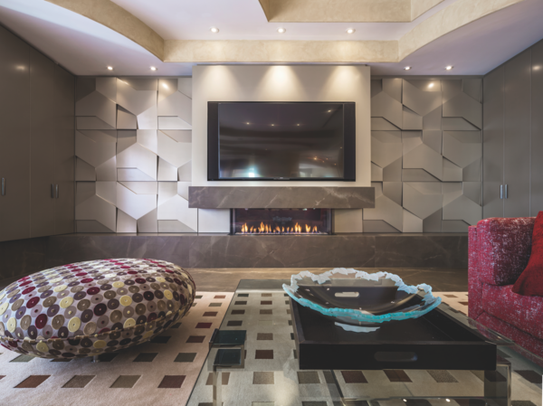 How to Choose the Right Material For Every Surface of Your Home - Photo 1 of 13 - Classtone Pulpis Fireplace