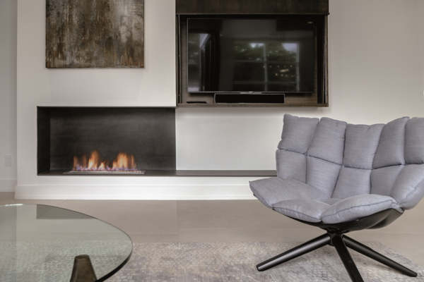 How to Choose the Right Material For Every Surface of Your Home - Photo 7 of 13 - Iron Copper fireplace