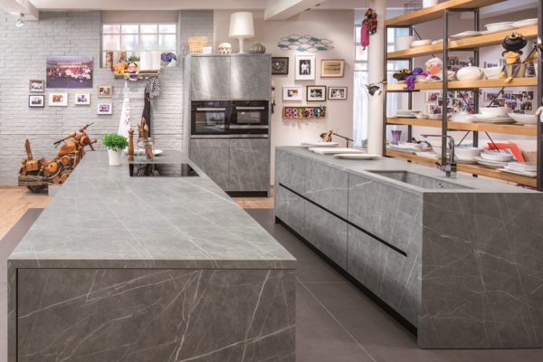 How to Choose the Right Material For Every Surface of Your Home - Photo 12 of 13 - Fusion Zaha Stone kitchen