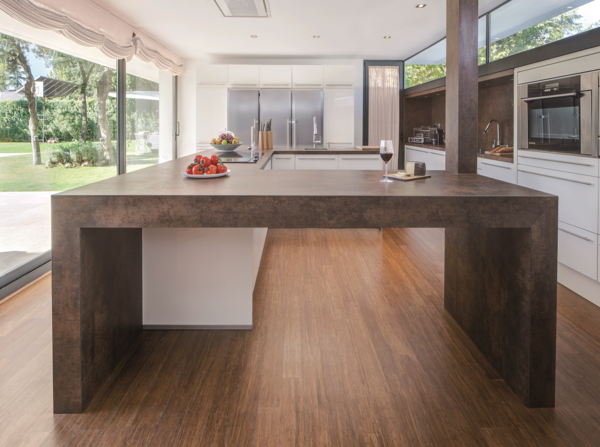 How to Choose the Right Material For Every Surface of Your Home - Photo 8 of 13 - Iron Corten countertop