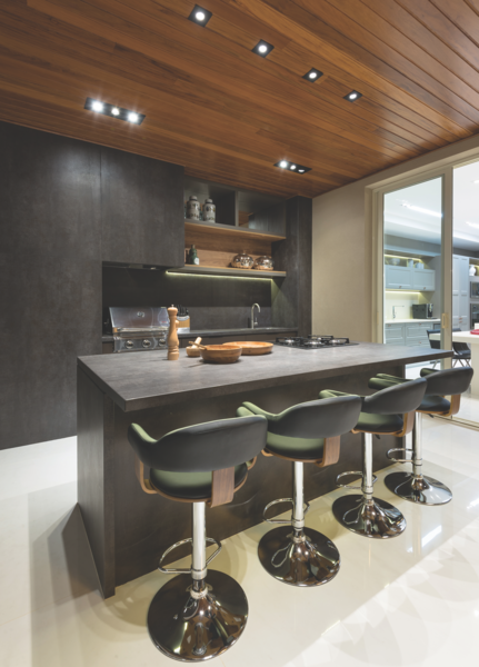 How to Choose the Right Material For Every Surface of Your Home - Photo 10 of 13 - Iron Grey island and cabinetry