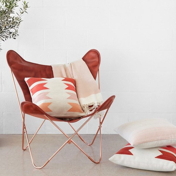 Palermo Chair - Copper & Cognac