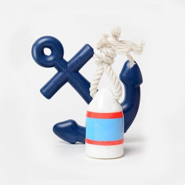 Waggo Nautical Water Dog Toy Set