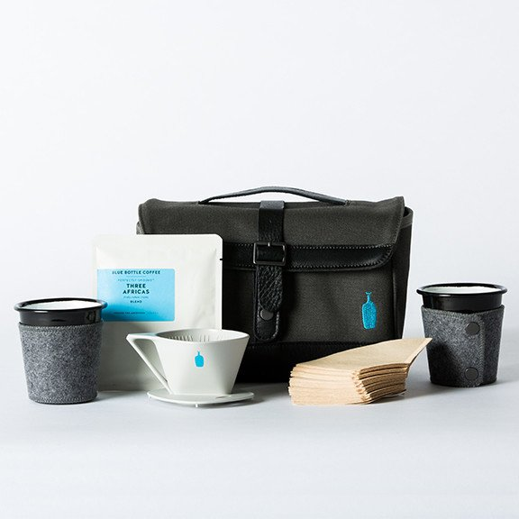 Photo 1 of 1 in Timbuk2 x Blue Bottle Coffee Weekender Travel Kit