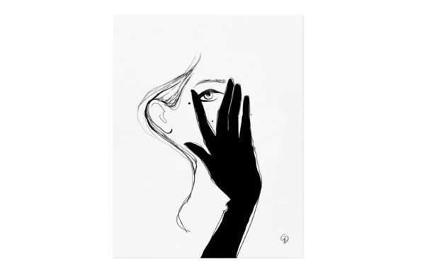Glove Art Print by Rifle Paper Co.